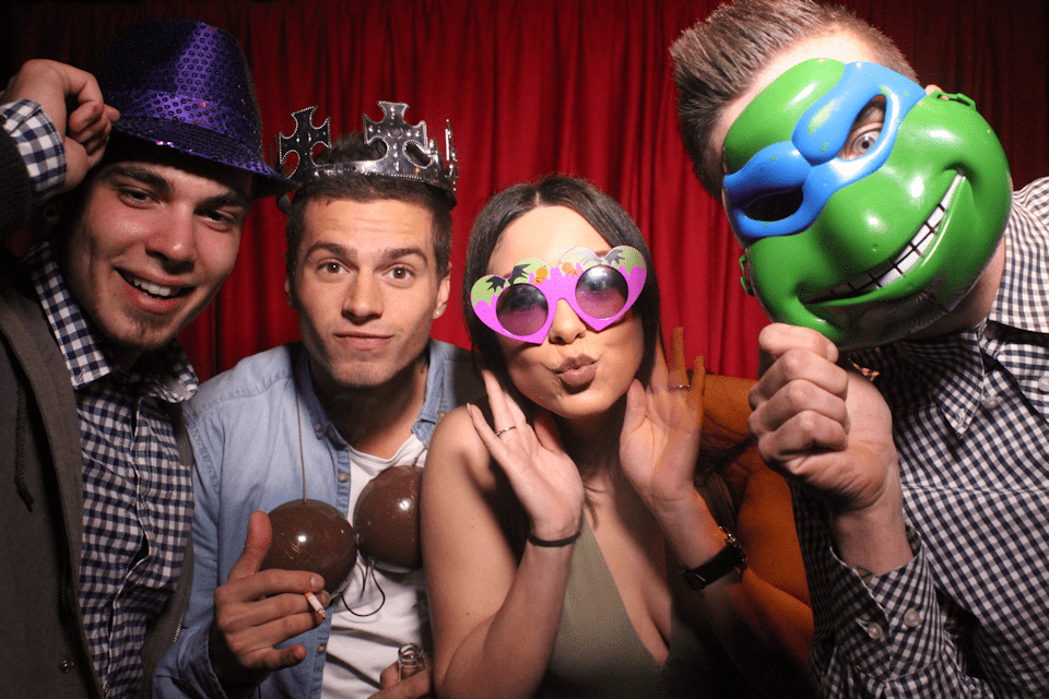 photobooth melbourne props